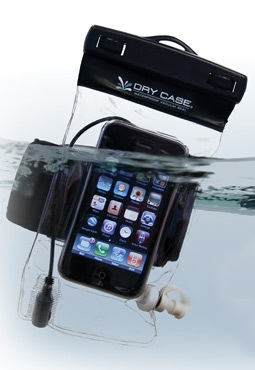DryCASE waterproof phone, camera, MP3 case